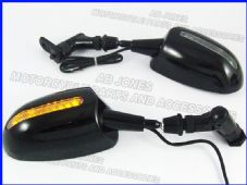 Mirrors with LED indicators CBR600 CBR1000 ZX6R R1 243